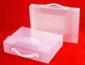 厂家定制 PP档案盒 空格盒 手提式文件盒